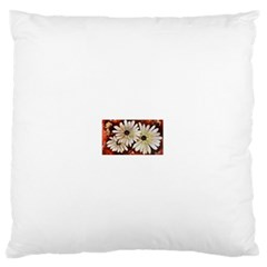 Fall Flowers No. 3 Standard Flano Cushion Cases (One Side)