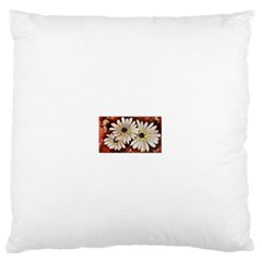 Fall Flowers No  3 Large Flano Cushion Cases (one Side)