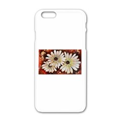 Fall Flowers No  3 Apple Iphone 6 White Enamel Case