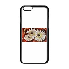 Fall Flowers No. 3 Apple iPhone 6 Black Enamel Case