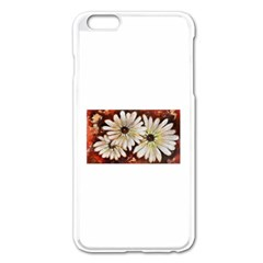 Fall Flowers No. 3 Apple iPhone 6 Plus Enamel White Case