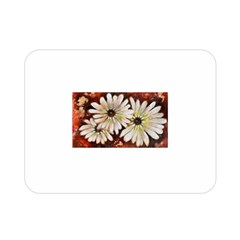 Fall Flowers No. 3 Double Sided Flano Blanket (Mini)