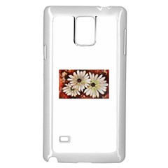 Fall Flowers No  3 Samsung Galaxy Note 4 Case (white)