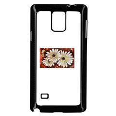 Fall Flowers No. 3 Samsung Galaxy Note 4 Case (Black)