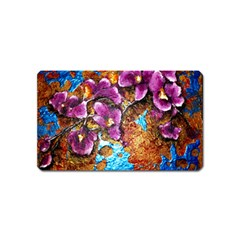 Fall Flowers No  5 Magnet (name Card)