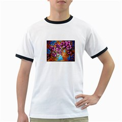 Fall Flowers No. 5 Ringer T-Shirts