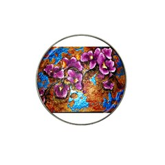 Fall Flowers No  5 Hat Clip Ball Marker