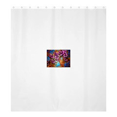 Fall Flowers No. 5 Shower Curtain 66  x 72  (Large)