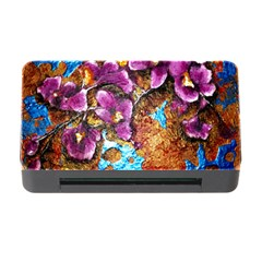 Fall Flowers No. 5 Memory Card Reader with CF