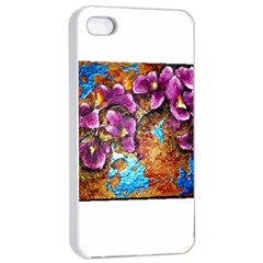 Fall Flowers No. 5 Apple iPhone 4/4s Seamless Case (White)