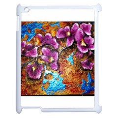 Fall Flowers No  5 Apple Ipad 2 Case (white)
