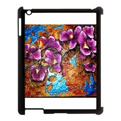 Fall Flowers No  5 Apple Ipad 3/4 Case (black)