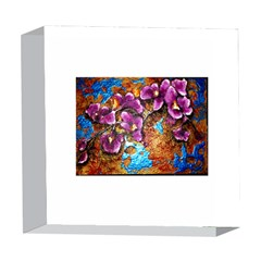 Fall Flowers No. 5 5  x 5  Acrylic Photo Blocks