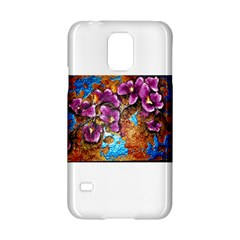 Fall Flowers No  5 Samsung Galaxy S5 Hardshell Case