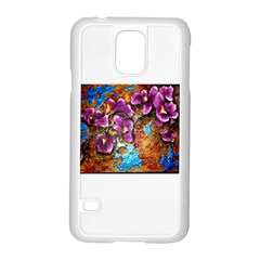 Fall Flowers No. 5 Samsung Galaxy S5 Case (White)