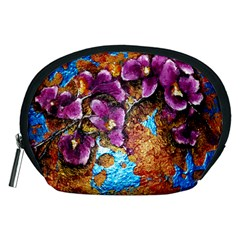 Fall Flowers No  5 Accessory Pouches (medium)