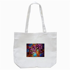 Fall Flowers No. 5 Tote Bag (White)