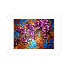 Fall Flowers No. 5 Double Sided Flano Blanket (Mini)