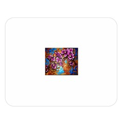Fall Flowers No. 5 Double Sided Flano Blanket (Large)