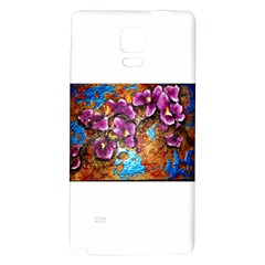 Fall Flowers No  5 Galaxy Note 4 Back Case