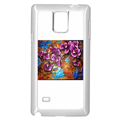 Fall Flowers No. 5 Samsung Galaxy Note 4 Case (White)