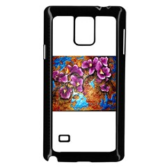 Fall Flowers No. 5 Samsung Galaxy Note 4 Case (Black)