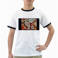 Fall Flowers No  6 Ringer T Shirts