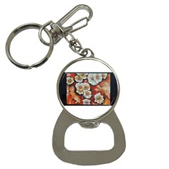 Fall Flowers No  6 Bottle Opener Key Chains