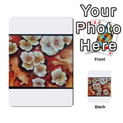 Fall Flowers No. 6 Multi-purpose Cards (Rectangle)