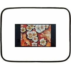 Fall Flowers No. 6 Fleece Blanket (Mini)