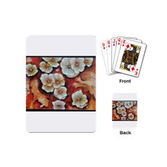 Fall Flowers No  6 Playing Cards (mini)