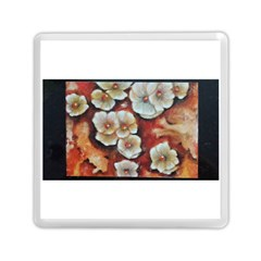 Fall Flowers No. 6 Memory Card Reader (Square)