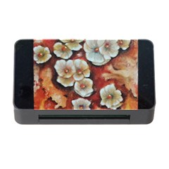 Fall Flowers No. 6 Memory Card Reader with CF