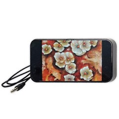 Fall Flowers No  6 Portable Speaker (black)