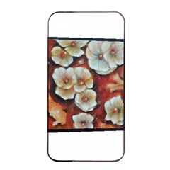 Fall Flowers No. 6 Apple iPhone 4/4s Seamless Case (Black)