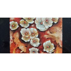 Fall Flowers No. 6 YOU ARE INVITED 3D Greeting Card (8x4)