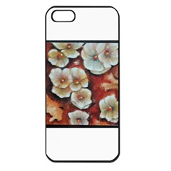 Fall Flowers No  6 Apple Iphone 5 Seamless Case (black)