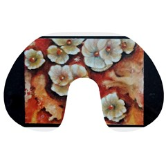 Fall Flowers No. 6 Travel Neck Pillows