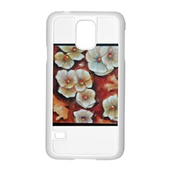 Fall Flowers No. 6 Samsung Galaxy S5 Case (White)