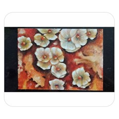 Fall Flowers No. 6 Double Sided Flano Blanket (Small)