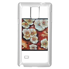 Fall Flowers No. 6 Samsung Galaxy Note 4 Case (White)