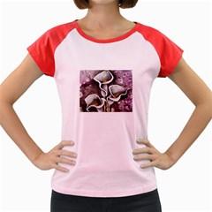 Gala Lilies Women s Cap Sleeve T Shirt