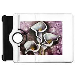 Gala Lilies Kindle Fire Hd Flip 360 Case
