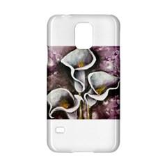 Gala Lilies Samsung Galaxy S5 Hardshell Case