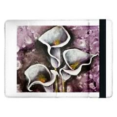 Gala Lilies Samsung Galaxy Tab Pro 12 2  Flip Case