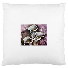 Gala Lilies Standard Flano Cushion Cases (Two Sides)