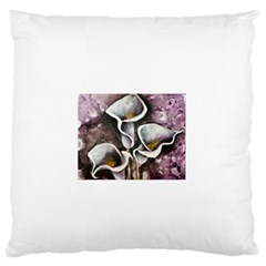 Gala Lilies Large Flano Cushion Cases (One Side)