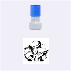Gala Lilies Rubber Round Stamps (Small)