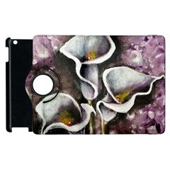 Gala Lilies Apple Ipad 2 Flip 360 Case