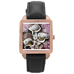 Gala Lilies Rose Gold Watches